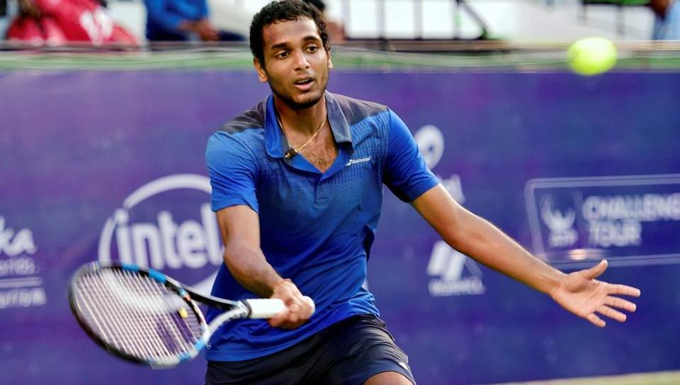 Ramkumar Ramanathan defeated Gleb Sakharov in straight nets to move into the next round of the Australian Open qualifiers.