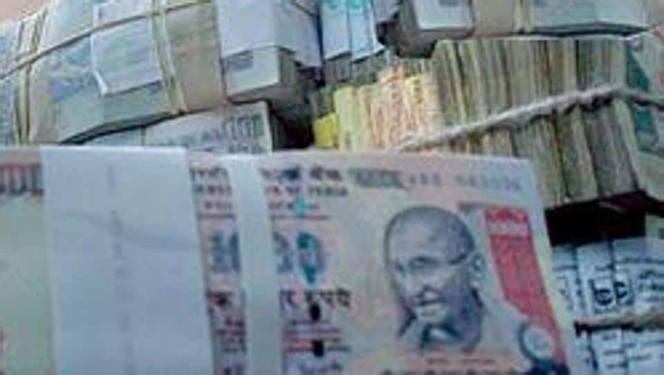Various chemicals and equipment used for printing fake bank notes were seized from their possession, the police said.