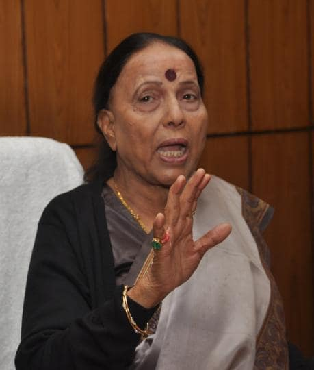Uttarakhand Leader of Opposition Indira Hridayesh