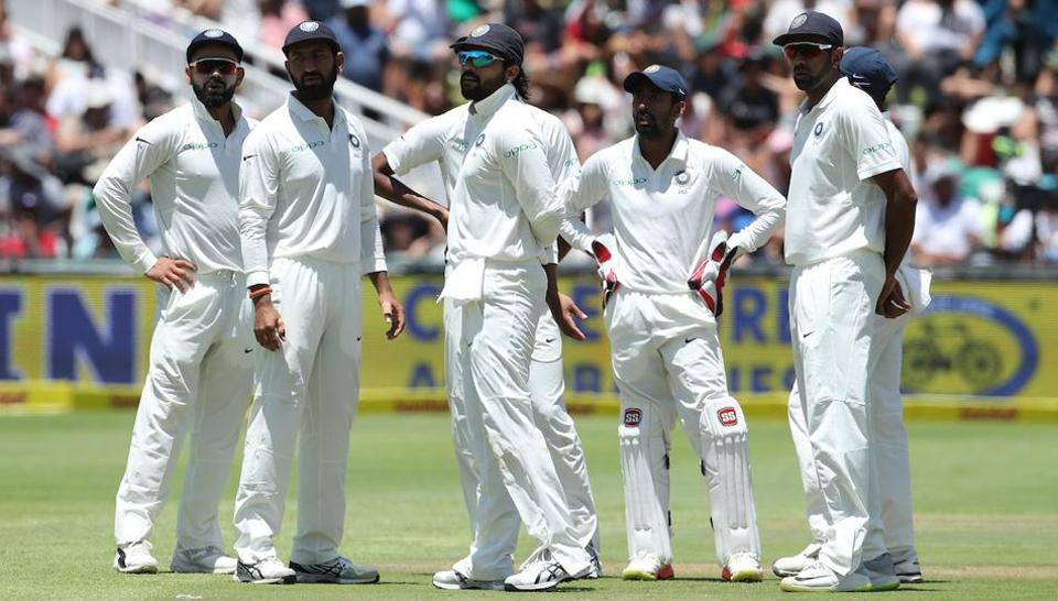 Sachin Tendulkar wants India cricket team to play according to the conditions in South Africa. Having won easily at home may give Indians over-confidence, he hinted ahead of the second Test in Centurion from Saturday.