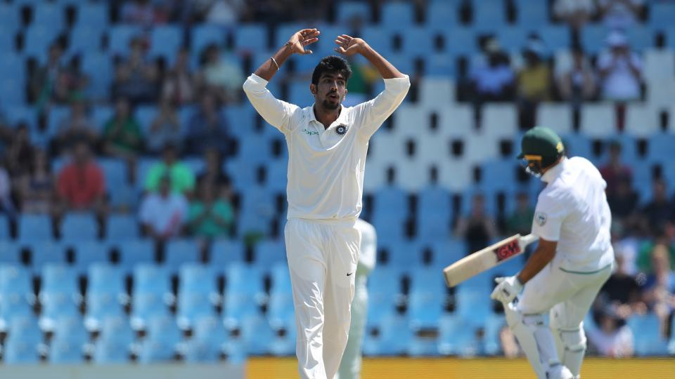 Jasprit Bumrah bowled with discipline as South Africa got off to a cautious start on a confounding Centurion Park wicket. (BCCI)
