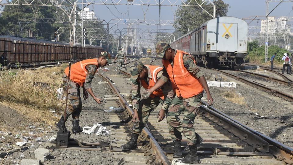 Indian Railways,Railways Board,Railway work site