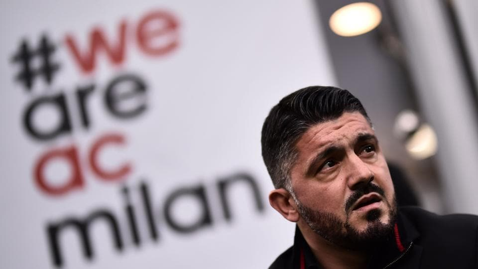 AC Milan have struggled since the takeover by a Chinese consortium, sacking Vicenzo Montella and hiring Gennaro Gattuso (in picture) as coach. Now, the sale of the club is under the scanner for alleged money-laundering.