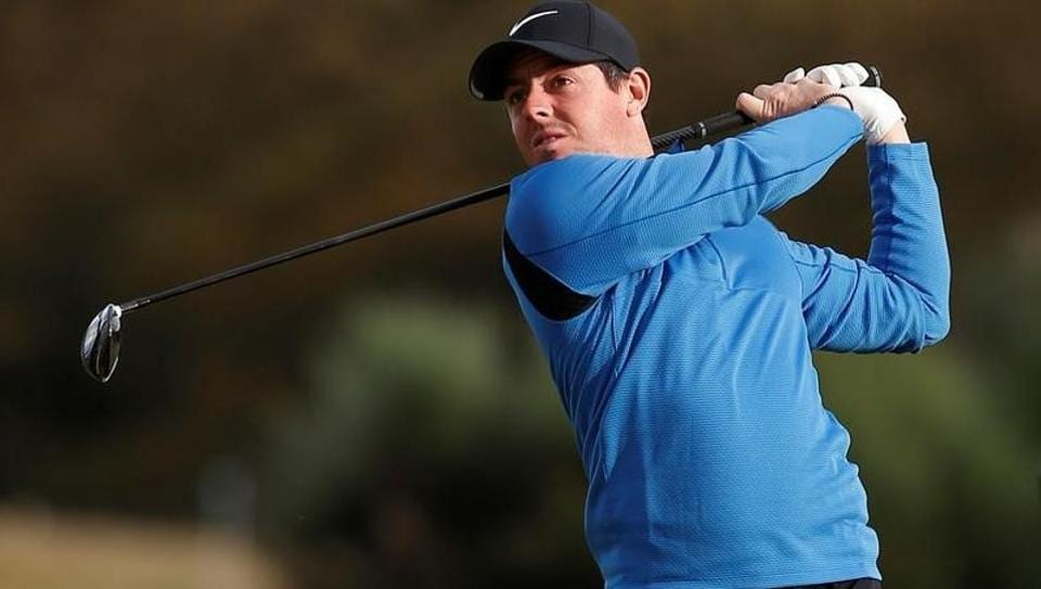 Golfer Rory McIlroy of Northern Ireland is a four-time Major winner.