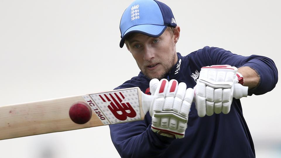 England's Joe Root practices his batting ahead of the ODI series against Australia.