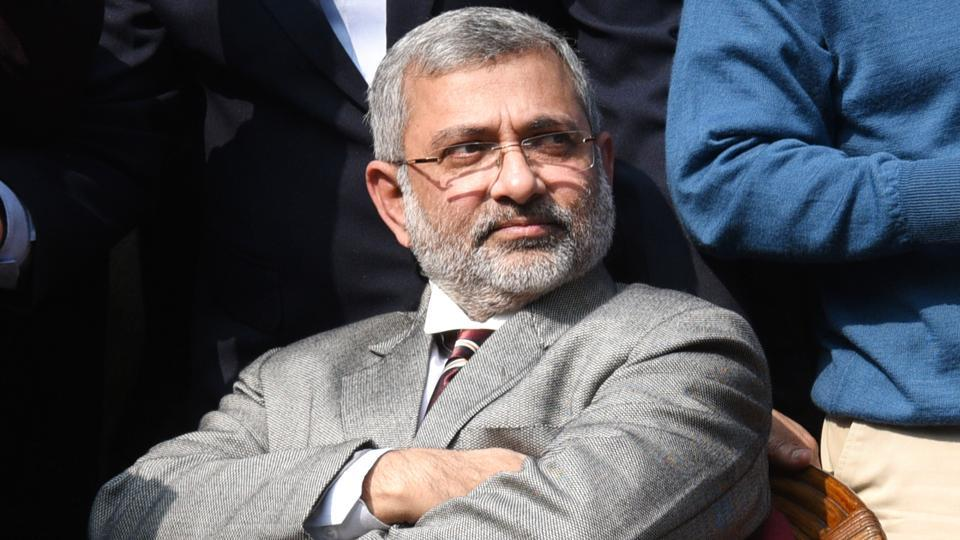 Supreme Court judge Justice Kurian Joseph at the press conference on Friday in New Delhi.