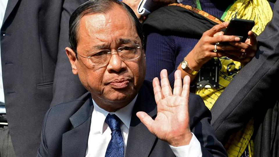 Justice Ranjan Gogoi, one of the four Supreme Court judges, who held a press conference in New Delhi on Friday.