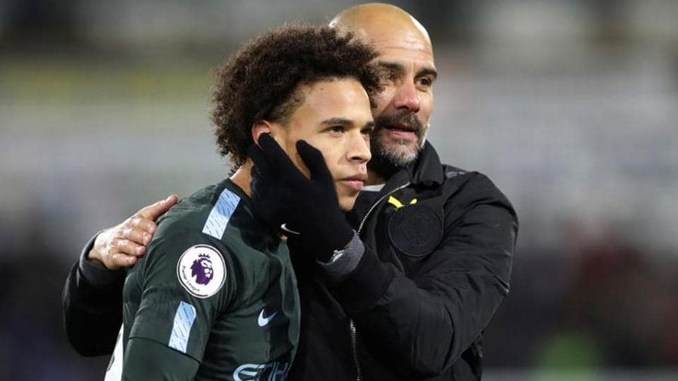 Leroy Sane has been in good form for Manchester City F.C. this season.