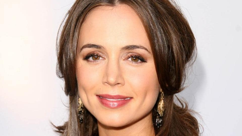 Actor Eliza Dushku says she was sexually molested at age 12 by a stunt coordinator during production of the 1994 film True Lies.