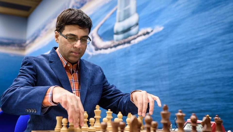 Viswanathan Anand started off well with a win in the Tata Steel Masters Chess tournament with a win over Maxim Matlakov.