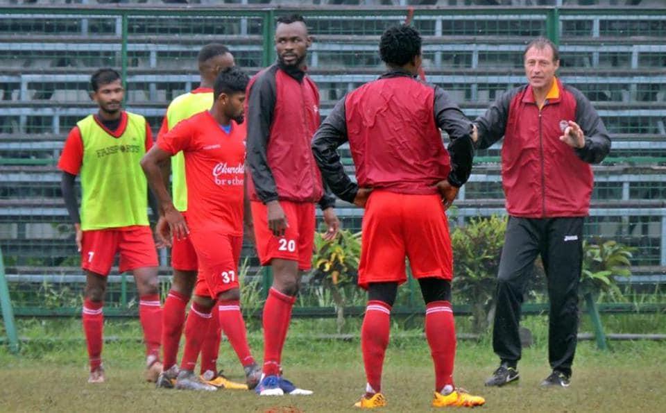 Gokulam Kerala FC,Churchill Brothers,I-League