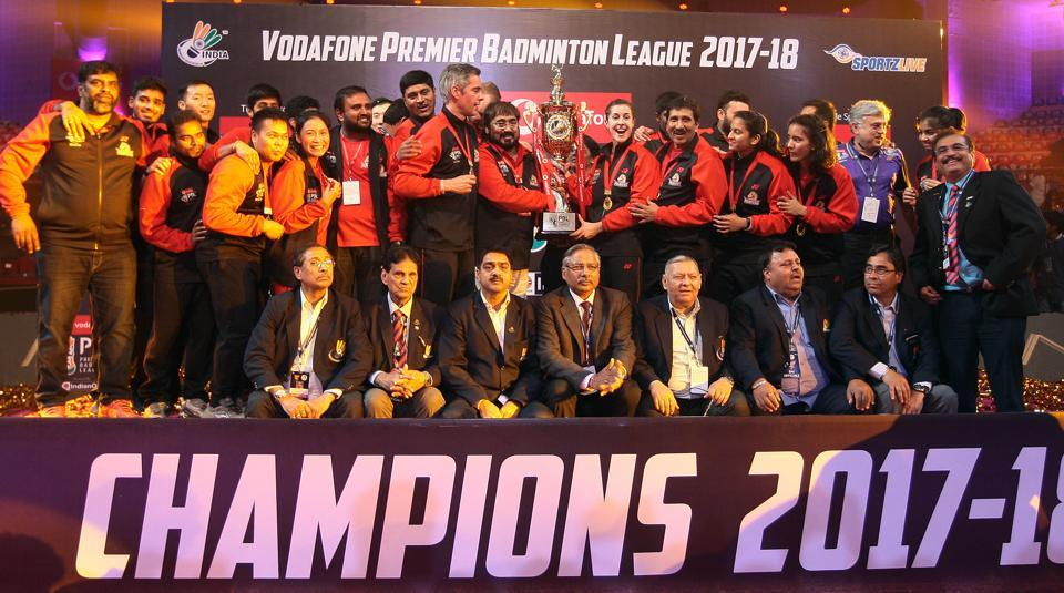Hyderabad Hunters,Bengaluru Blasters,Premier Badminton League