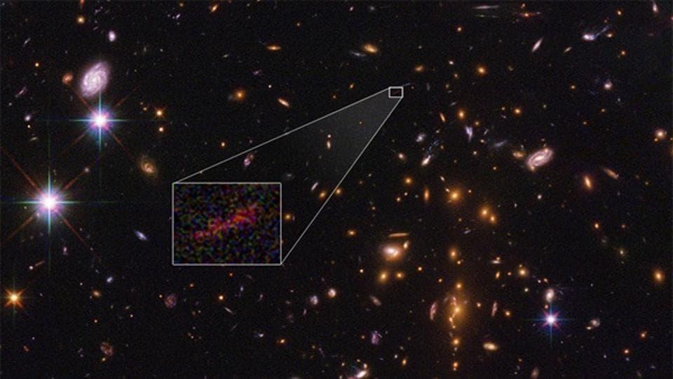 Nasa,farthest galaxy,Hubble telescope