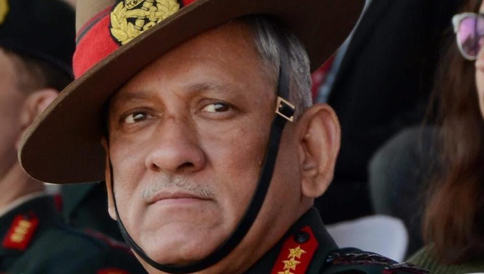 Army chief,Bipin Rawat,Kashmir
