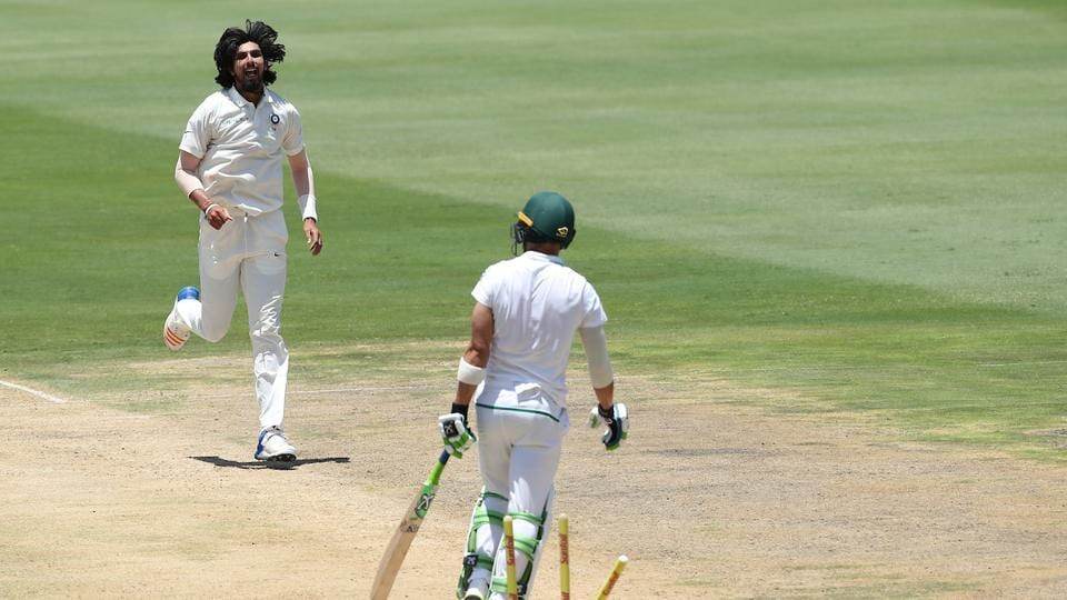 Two overs later, Ishant bowled Faf du Plessis to change the course of the morning session. The South Africa captain scored 63.  (BCCI )
