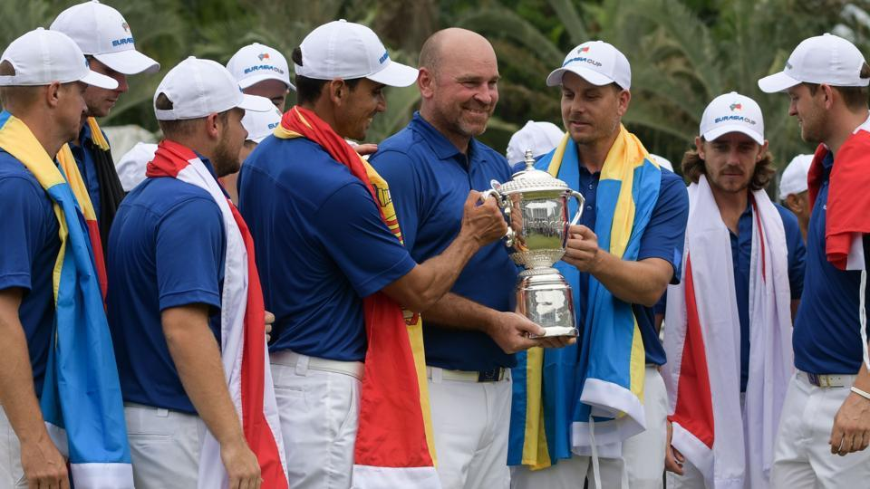 Team Europe successfully defended their EurAsia Cup gold title with a wonderful display in the singles matches.