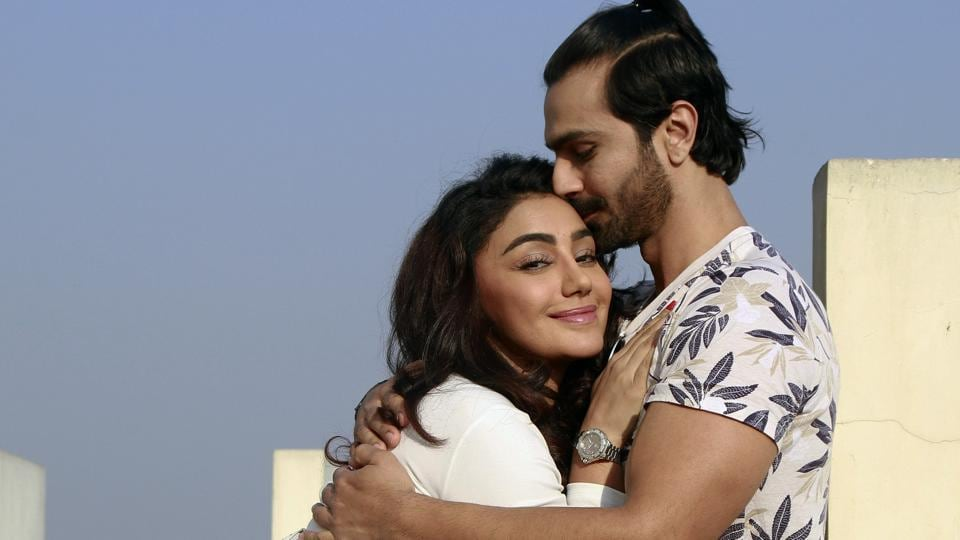 Actors Ashmit Patel and Maheck Chahal are dating in real life