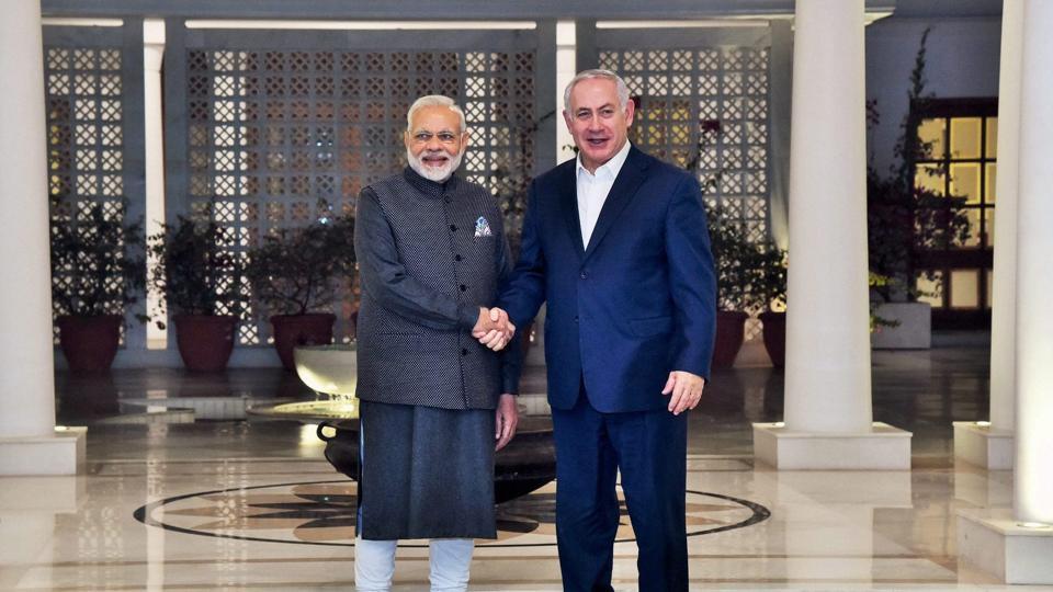 Benjamin Netanyahu,Israeli PM,Netanyahu visit to India