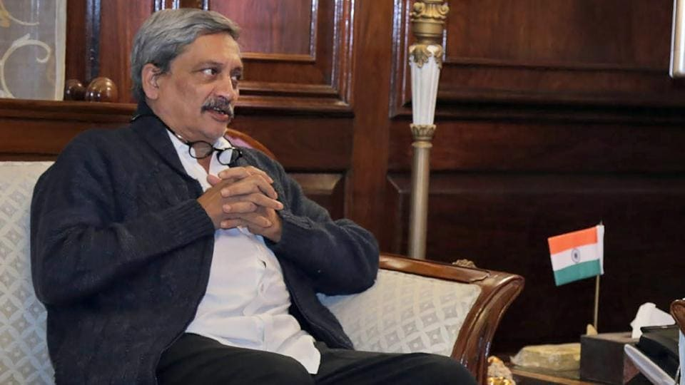 Chief Minister of Goa Manohar Parrikar