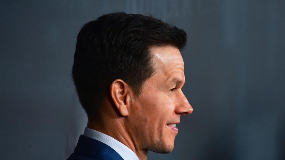Actor Mark Wahlberg arrives for the premiere of the film All The Money In The World in Beverly Hills, California.