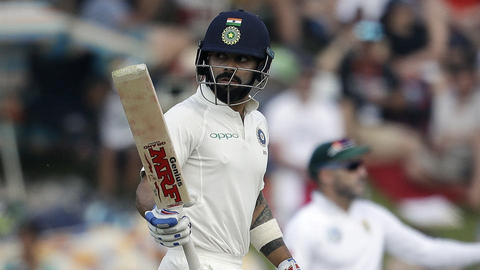 Virat Kohli ended day 2 on 85* as India trailed South Africa by 152 runs at stumps. Get full cricket score of India vs South Africa, second Test, Day 2 from SuperSport Park in Centurion here.
