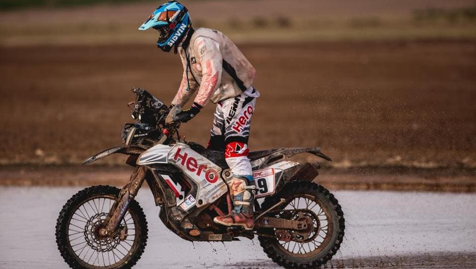 CS Santosh,Dakar Rally,Hero MotoSports Team Rally