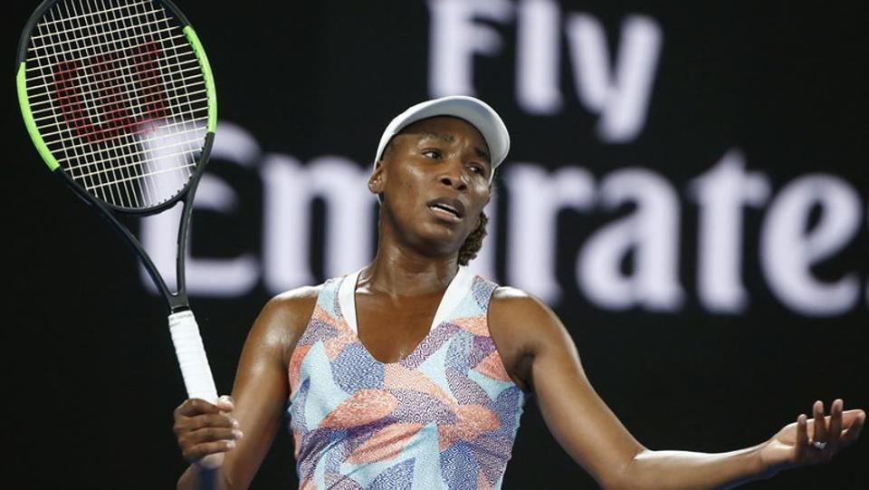 It was, however, a bad day in office for American top seeds. Venus Williams lost 3-6, 5-7 to Switzerland's Belinda Bencic. (REUTERS)