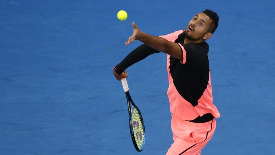 Local hope Nick Kyrgios too made it to the next round of the tournament. (REUTERS)