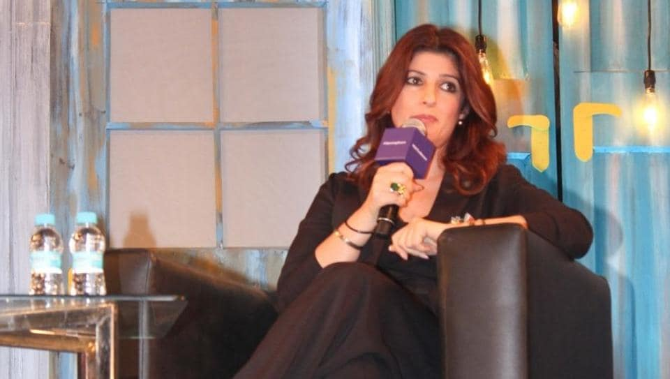 Twinkle Khanna took her daughter for a movie.