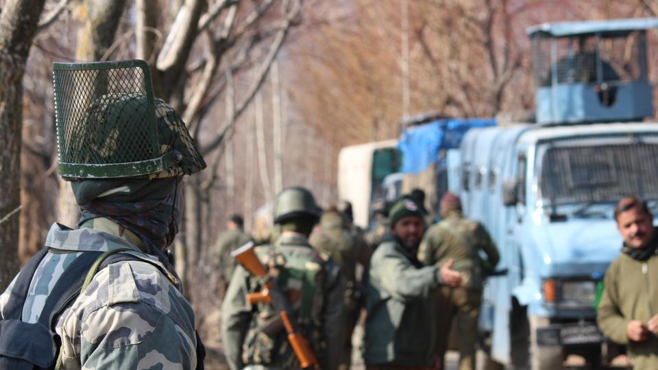 It was a joint operation by police, army and the central armed police forces.