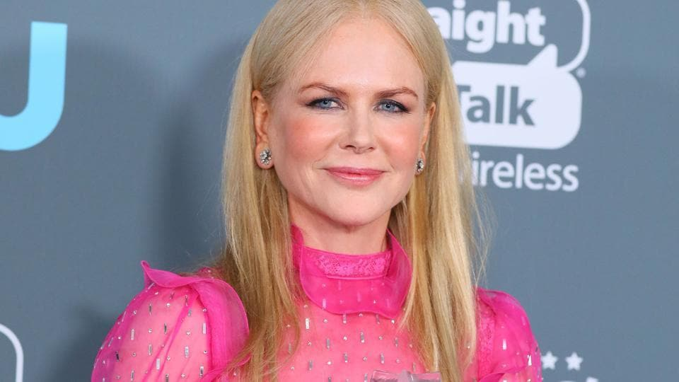 Nicole Kidman, recipient of the Best Actress in a Movie Made for TV or Limited Series attends the 23rd annual Critics' Choice Awards.