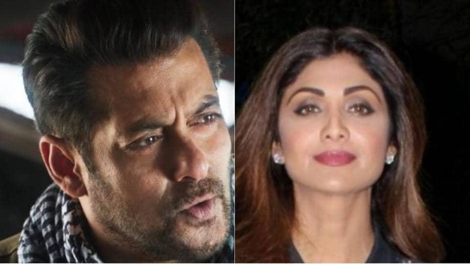 Salman Khan,Shilpa Shetty,Komal Nahata