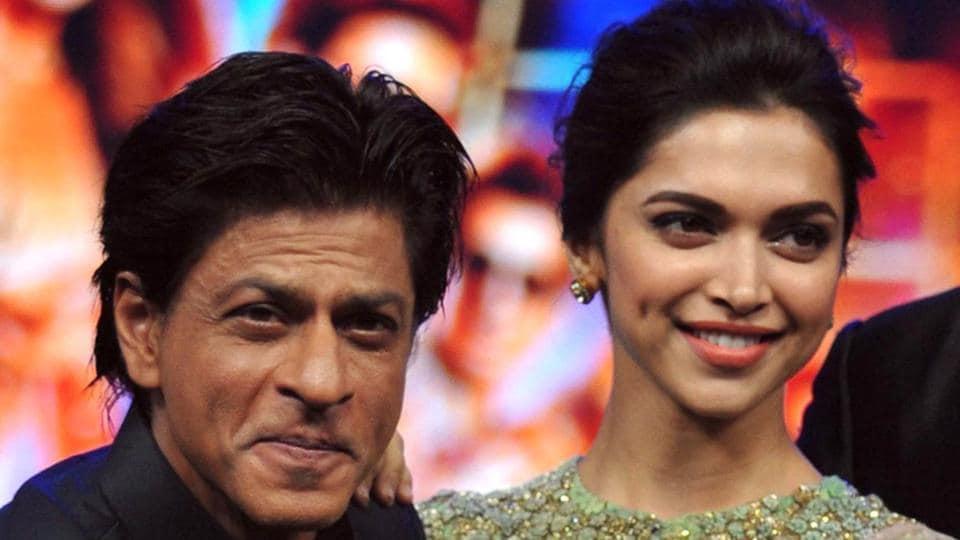 Shah Rukh Khan and Deepika Padukone were among the many big names at an event in Mumbai.