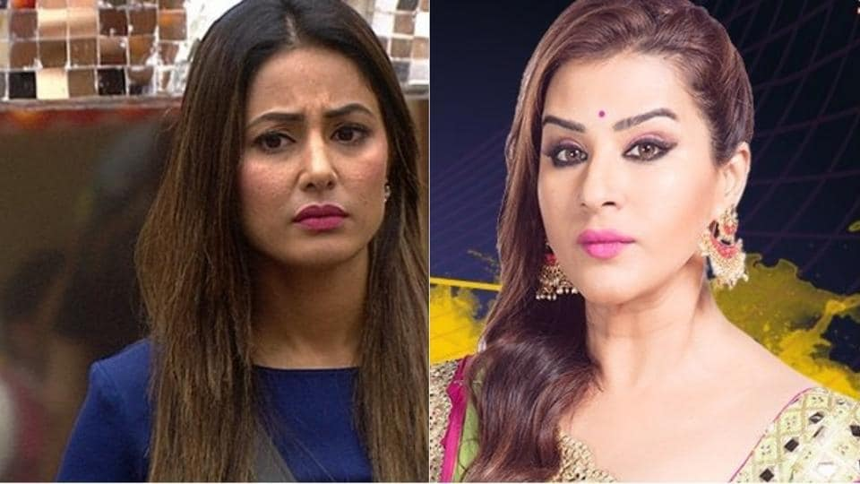 Bigg Boss 11,Shilpa Shinde,Hina Khan