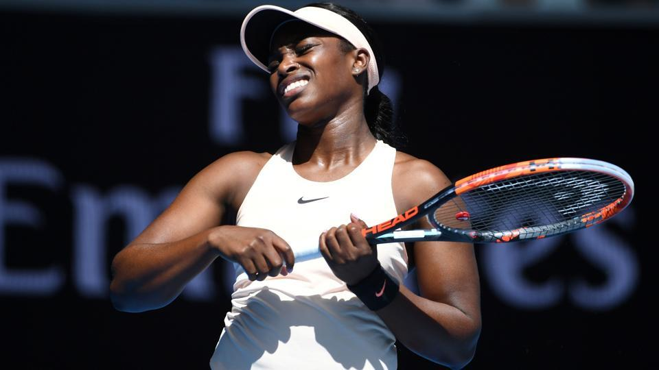Sloane Stephens and Coco Vandweghe too suffered shock first round exits on Monday. (AFP)