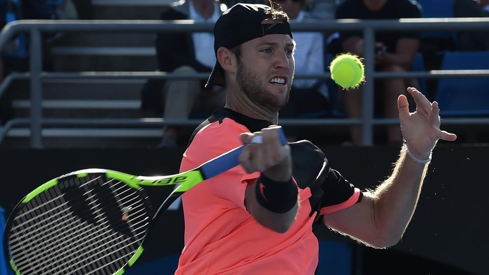 Jack Sock, US top-ranked male player, lost to Japan's Yuichi Sugita to crash out of the Australian Open.  (AFP)