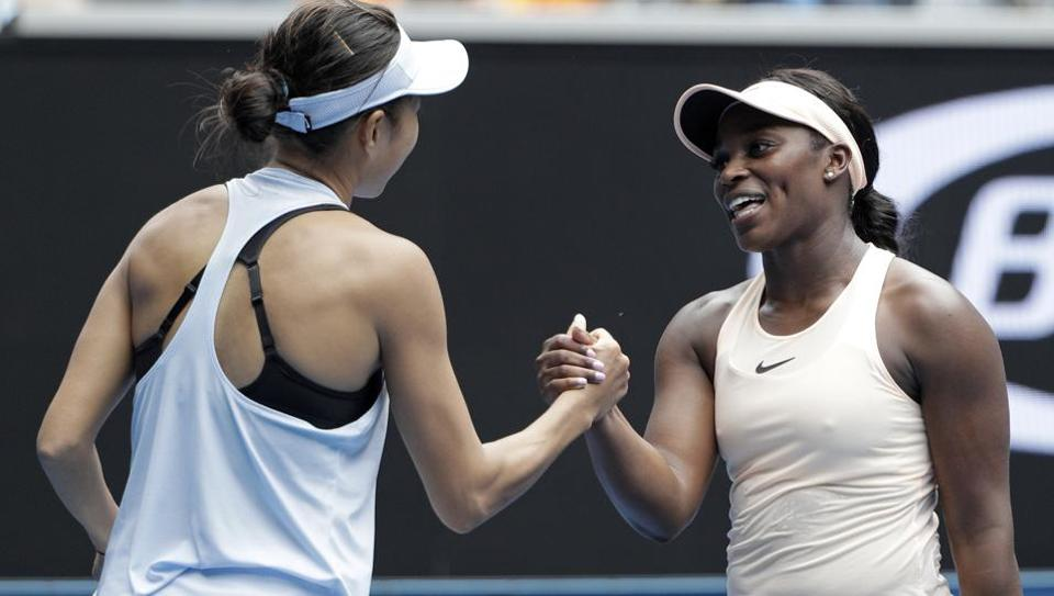 Sloane Stephens eliminated in first round of Australian Open
