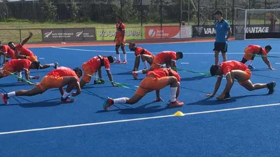 India face Japan in the opening game of the Four Nations Invitational hockey tournament in New Zealand.