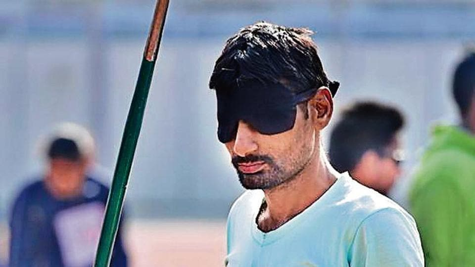 Para-athlete Jasvant Kumar, who is a 100 percent visually impared javelin thrower, stopped competing in 2012, after his father's death put the family under big financial distress.