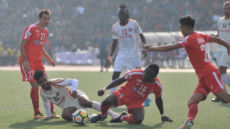 Aizawl F.C.,East Bengal F.C.,Khalid Jamil