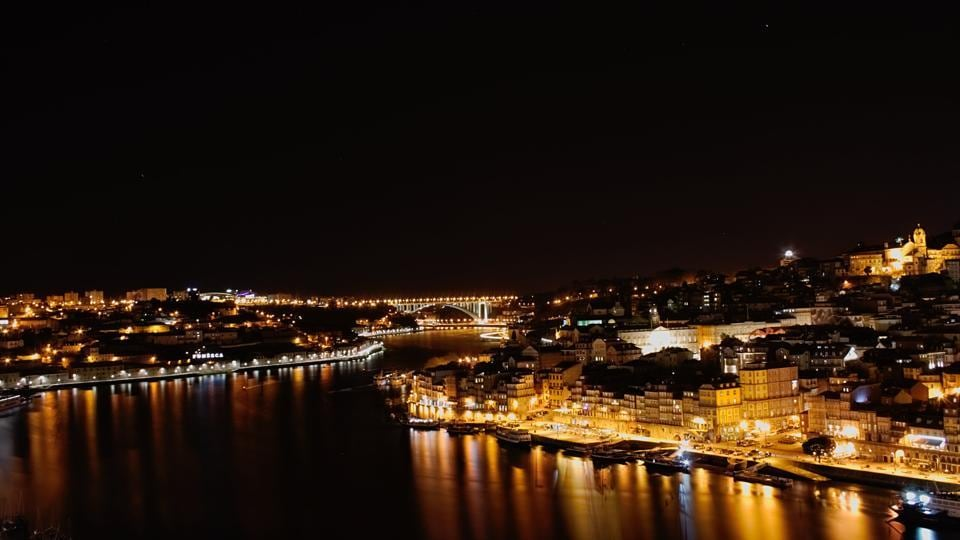 A view of Porto from Dom Luis 1 bridge.