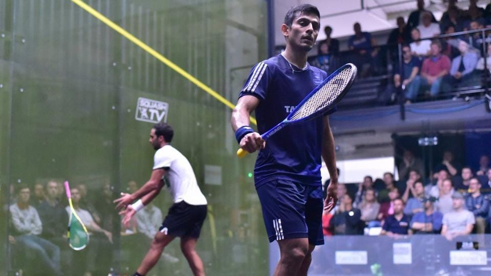 Saurav Ghosal will be the top seed at the Indian Open squash.