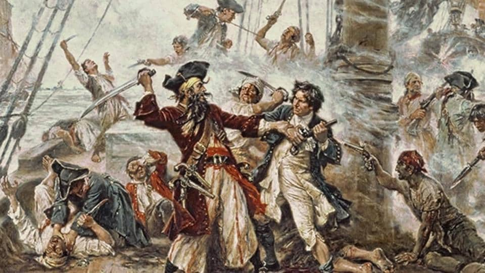 Blackbeard,Blackbeard's ship,Queen Anne's Revenge