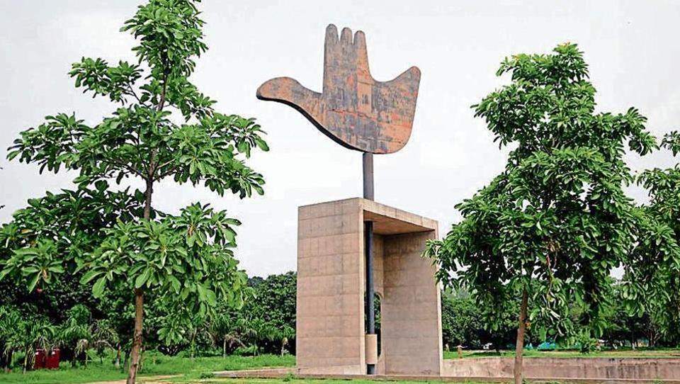 Landscaping,Capitol Complex,Chandigarh horticulture department