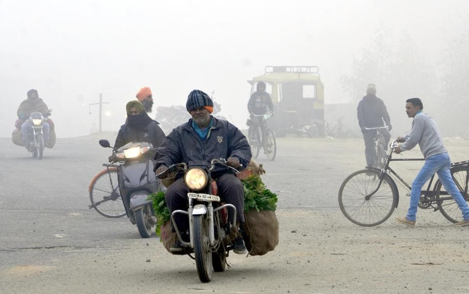 Punjab weather,Shimla weather,Cold in Punjab
