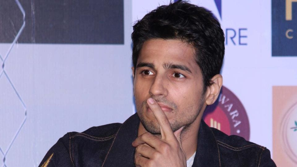 Sidharth Malhotra will soon be seen in Aiyaary.