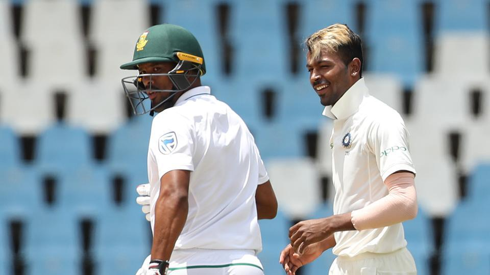 Faf Du Plessis and Vernon Philander (26) then steadied the ship with their 46-run partnership.  (BCCI )