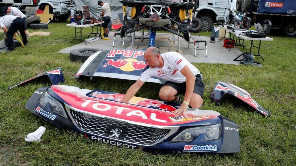Dakar Rally,Carlos Sainz,Kees Koolen