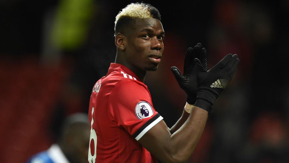 French midfielder Paul Pogba switched from Juventus to Premier League club Manchester United in 2016.