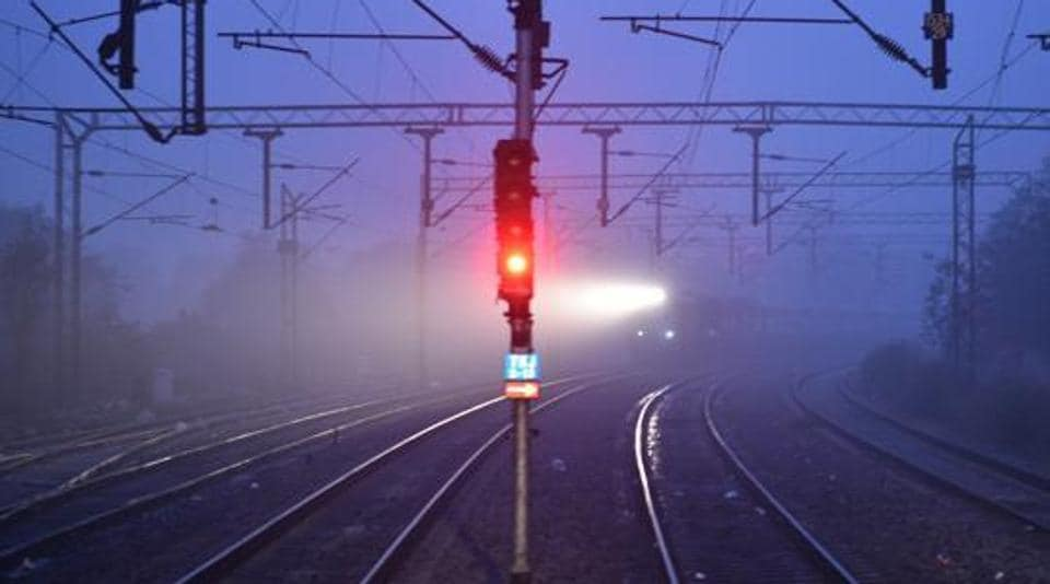 Train delay,Fog in winters,Train delay during winters